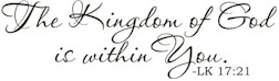 KingdomofGodwithinYou