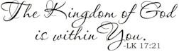 KingdomofGodwithinYou