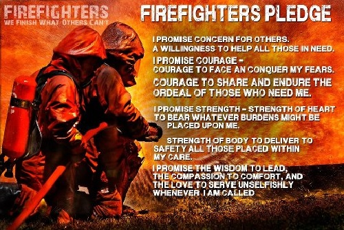 Firefighterpledge