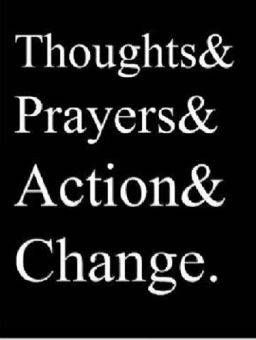 Thoughts and Prayers WordPress