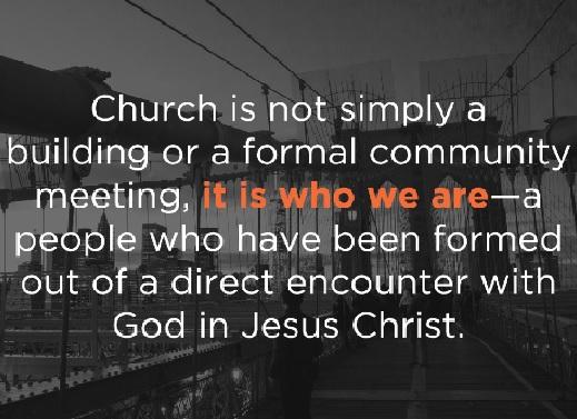 churchisnotabuilding